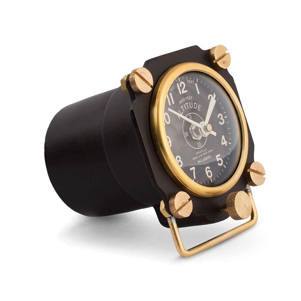 Product image for Altimeter | Desk Clock Black