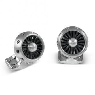 Product image for Jet Engine - Aircraft-Grade Aluminium | Cufflinks