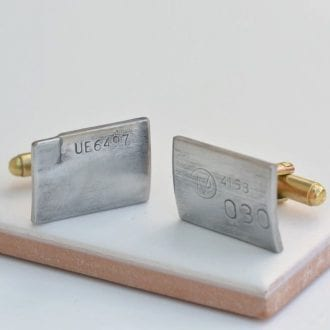 Product image for Bentley - Upcycled Original Engine Parts | Cufflinks
