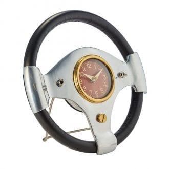 Product image for Speedster - Steering Wheel | Desk Clock