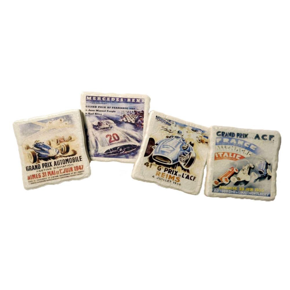Product image for European Grand Prix - Poster Artwork   Coaster Set