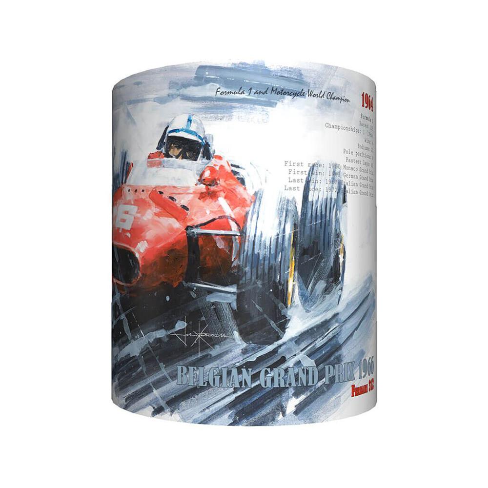 Product image for John Surtees & Ferrari - Artwork   John Ketchell   Mug