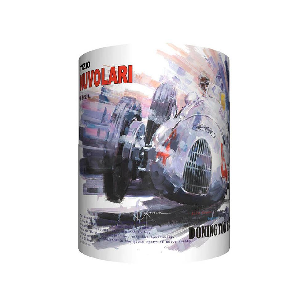Product image for Tazio Nuvolari & Auto Union - Artwork   John Ketchell   Mug