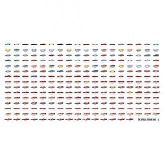 Product image for Ferrari - The First First 60 Years | large scale landscape print