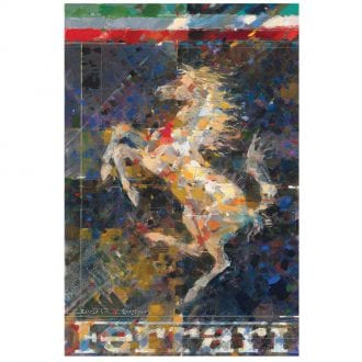 Product image for Cavallino Rampante   Dexter Brown   Limited Edition print