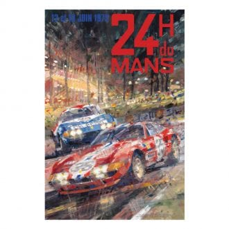 Product image for Ferrari 365 GTB/4 - Le Mans - 1972    Dexter Brown   Limited Edition print