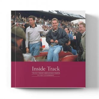 Product image for Phil Hill: Inside Track | Phil Hill with Doug Nye | Book | Hardback