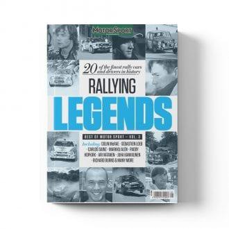 Product image for Rallying Legends | Motor Sport Magazine | Bookazine