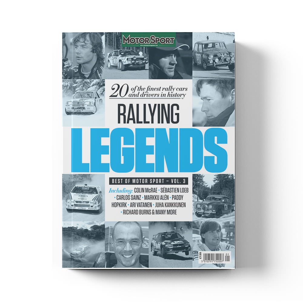 Product image for Rallying Legends | Motor Sport Magazine | Bookazine