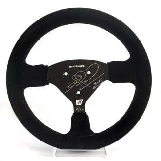 Product image for Nigel Mansell - Williams FW14B - 1992   replica steering wheel   signed Nigel Mansell   full-size