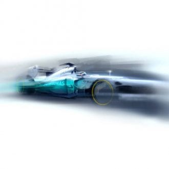 Product image for Lewis Hamilton - Mercedes - 2012 | Goodwood Festival of Speed | Limited Edition print