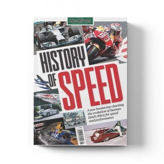 Product image for History of Speed | Motor Sport Magazine | Bookazine