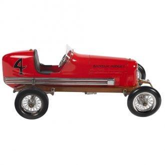 Product image for Spindizzies - Bantam Midget Car - 1930s   red - aluminium   model