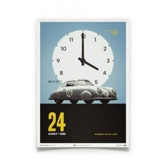 Product image for Porsche 365 SL Gmund - Le Mans - 1951    Automobilist   poster