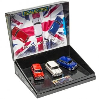 Product image for Mini - Diamond Edition | Commemorative Triple Pack | Scalextric