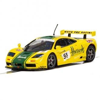 Product image for McLaren F1 GTR - Harrods | LeMans - 1995 | Scalextric