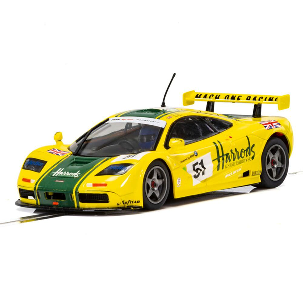 Product image for McLaren F1 GTR LeMans 1995 Harrods: Scalextric