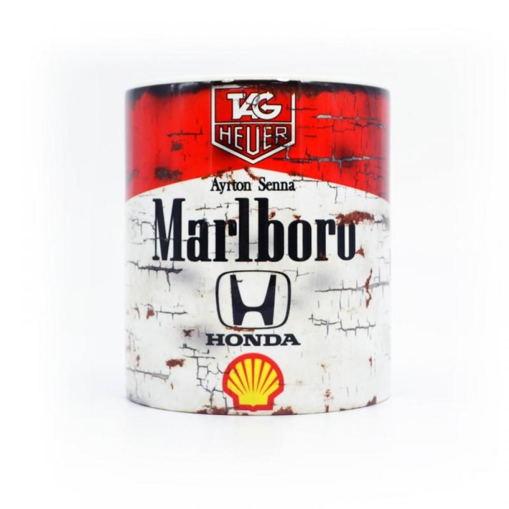 Product image for Ayrton Senna - Marlboro Racing   Mug