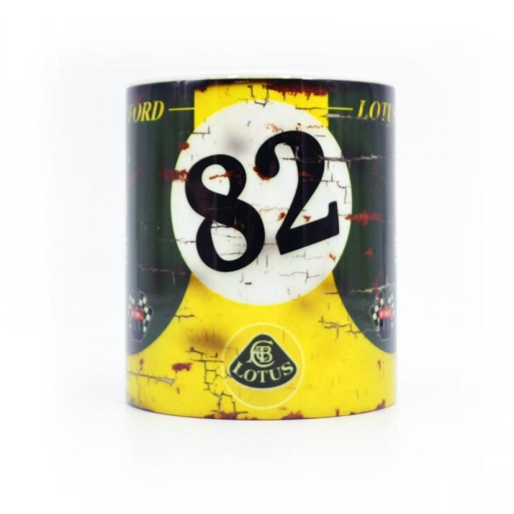 Product image for Jim Clark - Lotus No82 - Indy 500   Mug
