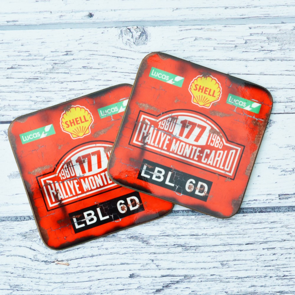 Product image for Monte Carlo Rally - Oil   Coaster