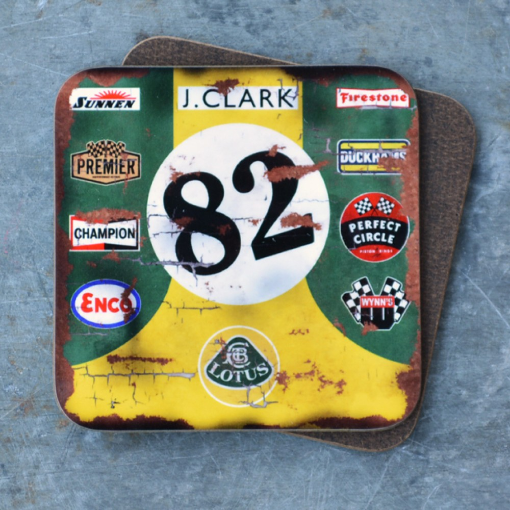 Product image for Jim Clark - Lotus - Indy 500 | Coaster