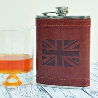 Product image for Union Jack | Hip Flask