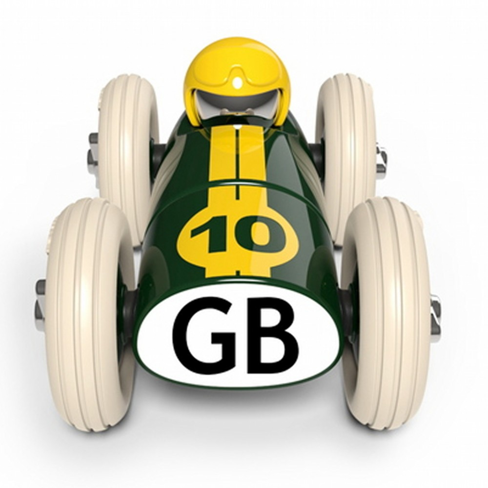 Product image for Midi Bonnie GB Green Racing Car | Playforever | Toy