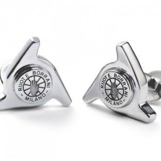 Product image for The Driver's Society   Borrani 3 Ear Spinner   Cufflinks