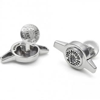 Product image for The Driver's Society   Borrani 2 Ear Spinner   Cufflinks