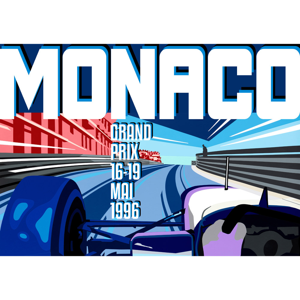 Product image for Monaco GP B Poster