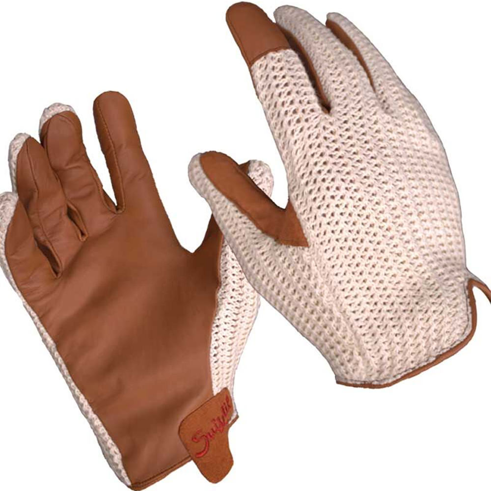 Product image for Grand Prix Driving Gloves Brown | Leather | Suixtil