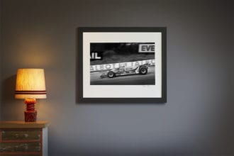 Product image for Jody Scheckter - Ferrari – 1980   signed Steve Theodorou   Limited Edition print