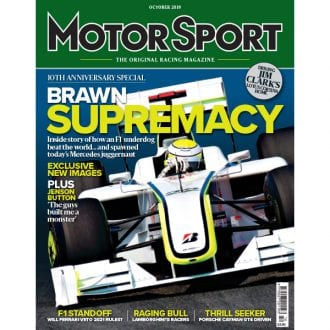 Product image for October 2019 | Brawn Supremacy | Motor Sport Magazine