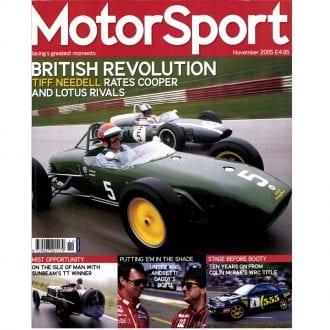 Product image for November 2005   British Revolution   Motor Sport Magazine