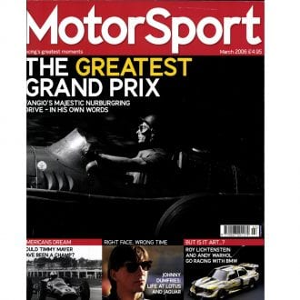 Product image for March 2006   The Greatest Grand Prix   Motor Sport Magazine