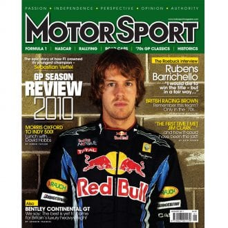 Product image for January 2011 | GP Season Review 2010 | Motor Sport Magazine