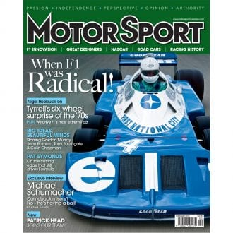 Product image for February 2011 | When F1 was Radical | Motor Sport Magazine