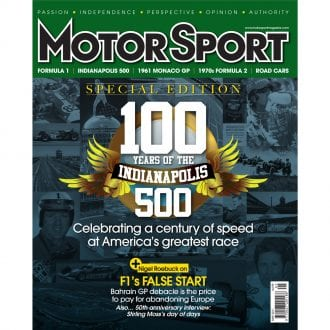 Product image for May 2011 | 100 Years Of The Indy 500 | Motor Sport Magazine