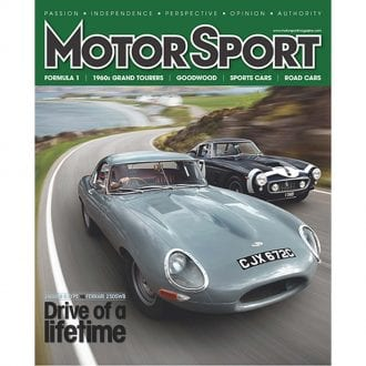 Product image for September 2011 | Drive Of A Lifetime | Motor Sport Magazine