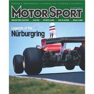 Product image for October 2011 | Legends Of The Nürburgring | Motor Sport Magazine