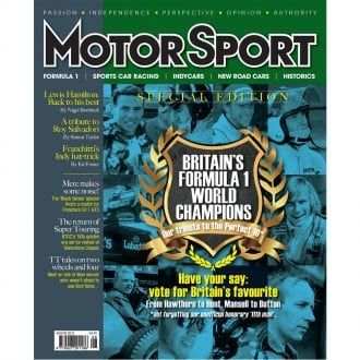 Product image for August 2012   Britain's Formula 1 World Champions   Motor Sport Magazine