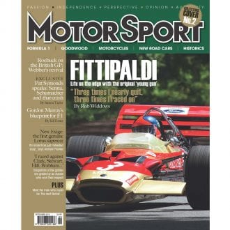 Product image for September 2012   Fittipaldi: F1's Original Young Gun   Motor Sport Magazine