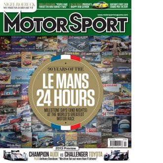 Product image for July 2013 | 90 Years Of The Le Mans 24 Hours | Motor Sport Magazine