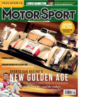Product image for January 2014 | Sports Car Racing's New Golden Age | Motor Sport Magazine
