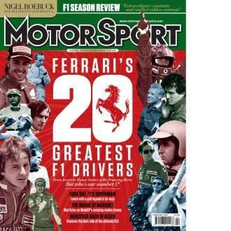 Product image for February 2014 | Ferrari's 20 Greatest F1 Drivers | Motor Sport Magazine