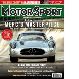 Product image for March 2014 | Merc's Masterpiece | Motor Sport Magazine