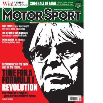 Product image for April 2014 | Time For A Formula 1 Revolution | Motor Sport Magazine