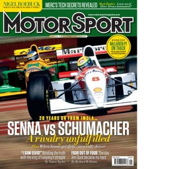 Product image for May 2014 | Senna Vs Schumacher | Motor Sport Magazine