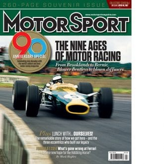 Product image for July 2014 | The Nine Ages Of Motor Racing | Motor Sport Magazine