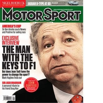Product image for August 2014 | The Man With The Keys To F1 | Motor Sport Magazine